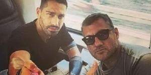 Marco Borriello e Christian Vieri