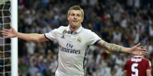 Toni Kroos tem sido decisivo nos últimos jogos do Real Madrid