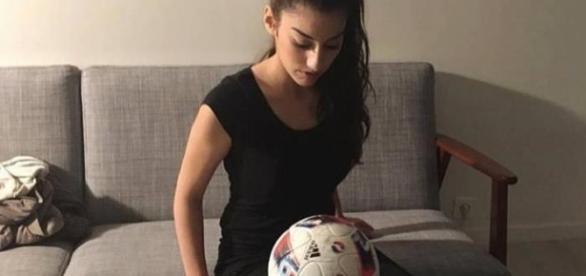 Lisa 'manda muito bem' no futebol.