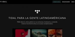 Tidal gratis en México y Latinoamérica