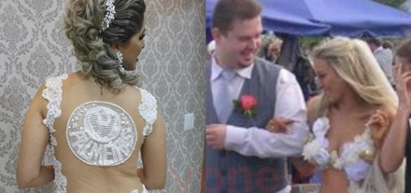 Algumas mulheres preferem fugir da tradição ao escolher o vestido de noiva