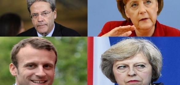 Gentiloni, Merkel, Macron e May: solo alcuni dei leader politici europei senza figli