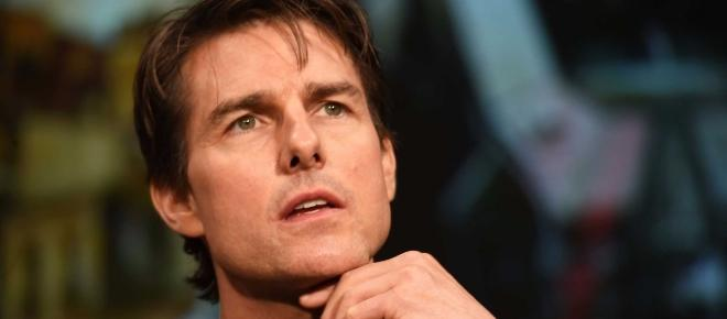 Tom Cruise holds onto Scientology while his family departs from the church