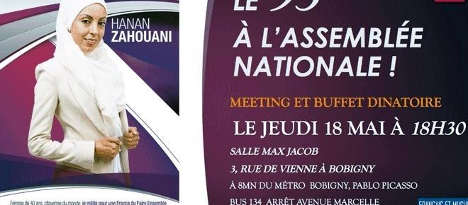 Le parti Français et musulman défrise la fachosphère