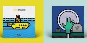 Mike Karolos recriou capas de álbuns icônicos da música (Foto: Reprodução/smirapdesigns)
