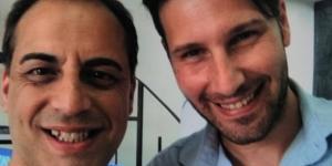 Pietro Roccaro e Daniele Calvo