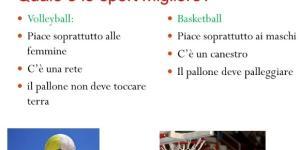 Volleyball vs basketball Ballo vs canto (fai click) Presentazione ... - slideplayer.it