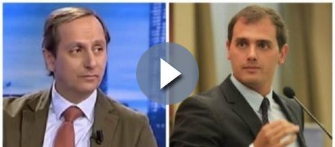 Carlos Cuesta y Albert Rivera en 13TV (Periodista Digital)