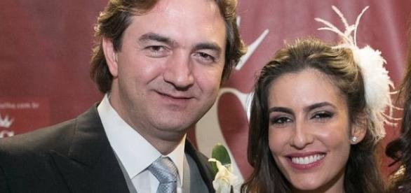 Casamento da jornalista Ticiana Villas Boas e do empresário Joesley Batista, presidente da holding J&F