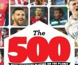 Revista lista os 500 mais importantes da temporada
