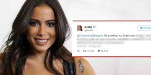 A cantora tem o costume de gerar polêmicas nas redes sociais
