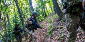 Una fase dell'edizione 2016 della competizione per pattuglie militari (Foto Unuci - Italian Raid Commando)