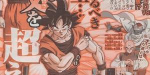 Scan de la revista Shonen Jump.