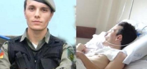 Policial Militar ficou na cadeira de rodas após ser atacado