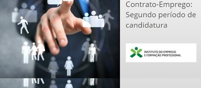 Candidaturas abertas ao Contrato-Emprego do IEFP