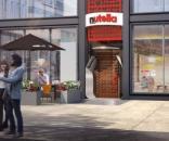 A Nutella vai inaugurar o primeiro café oficial no dia 31 de maio, no Millennium Park Plaza, em Chicago, nos Estados Unidos da América.