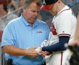 Tempers flare as Braves beat Blue Jays, Freeman hit by pitch - ajc.com