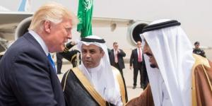 King Salman greets Trump on arrival in Saudi - in pictures | The ... - thenational.ae