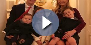 Ivanka Trump, Jared Kushner and children / Photo via Ivanka Trump , Instagram