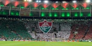 Torcida do Fluminense fazendo festa no Maracanã (Foto: Globoesporte)