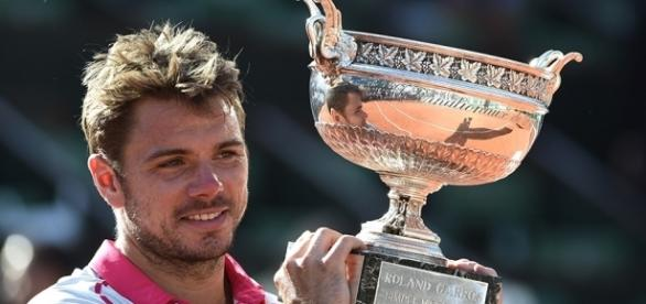 Stan Wawrinka has his sights set on a 2nd French Open ... -Picture courtesy of si.com