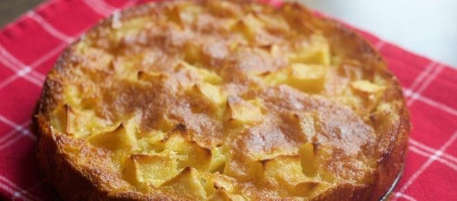 La ricetta della torta di mele senza forno