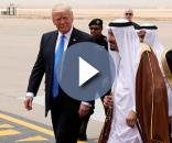 Il primo tour internazionale di Donald Trump è iniziato dall'Arabia Saudita