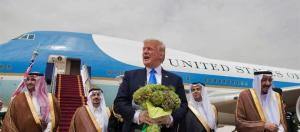 Trump in Saudi-Arabien. [This picture has been provided by BN which is responsible. It has to be changed by BN if it is not free to use.]