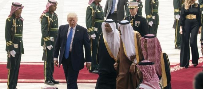 President Donald Trump has gone to Saudi Arabia ready to do business