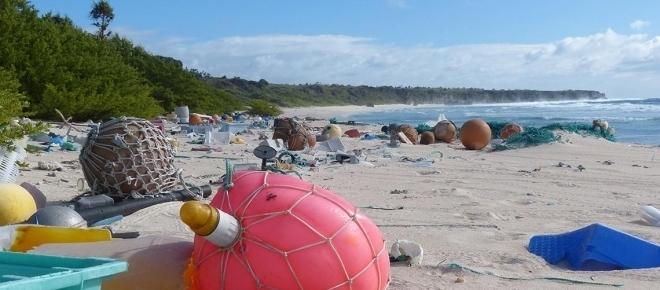 Un paradiso di plastica nell'Oceano Pacifico