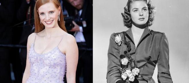 Jessica Chastain devient Ingrid Bergman