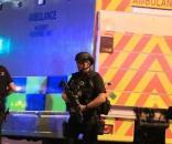 Poliziotti sulla scena; Fonte: BBC