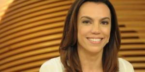 Ana Paula fala sobre gafes durante apresentação do jornal ( Imagem Reprodução)