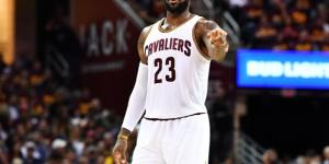 LeBron's team falls to Celtics