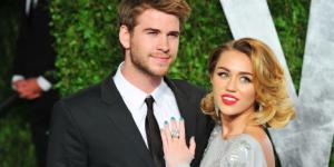 Liam Hemsworth supports Miley Cyrus at the BMMA 2017