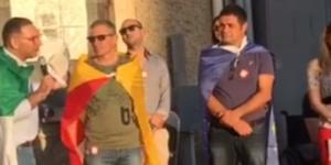 Michele Gianni interviene in un comizio rionale