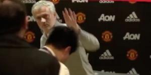 Mourinho deu a entrevista mais rápida do futebol