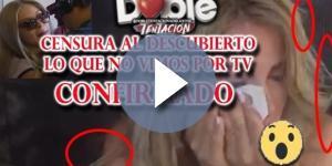 La censura de la pelea entre Romina y Melina