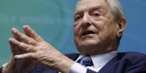 Spekulant George Soros (86). [This photo was provided by blastingnews. For copyright issues blastingnews is responsible.]