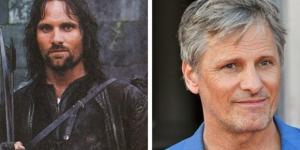 Viggo Mortensen, o Aragorn, 16 anos após o lançamento de ''A Sociedade do Anel''.