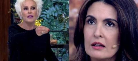 Ana Maria Braga e Fátima Bernardes envolvidas