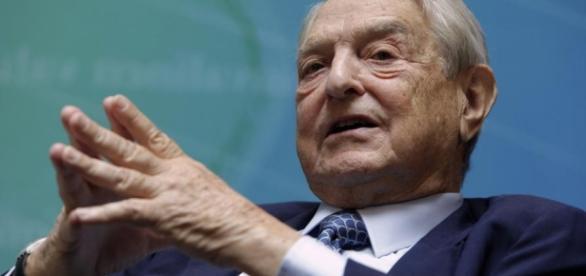 Spekulant George Soros (86). [This photo was provided by blastingnews. For copyright issues blastingnews is responsible.]
