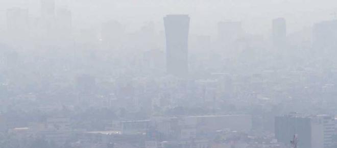 Altos índices de contaminantes en la Ciudad de México