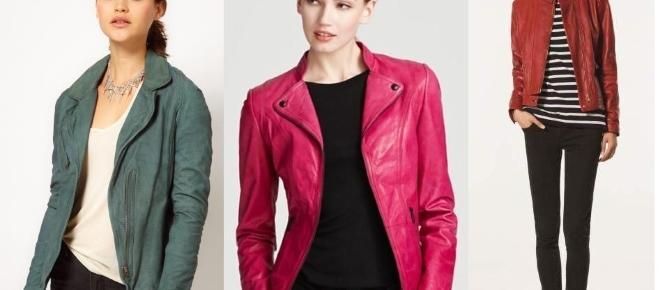 ¿Cómo vestir una blazer de colores?