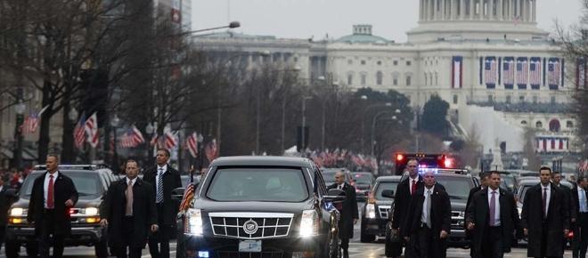 Trump, arrivo a Roma con la 'bestia', in carrarmato dal Papa