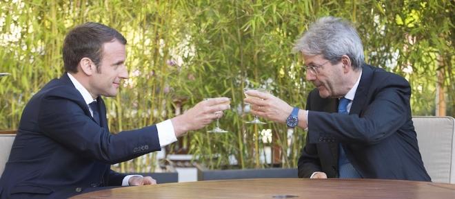 Tutto sull'incontro tra Paolo Gentiloni ed Emmanuel Macron