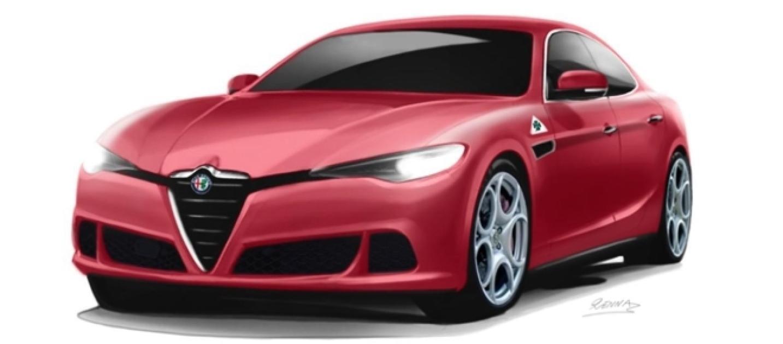Alfa romeo nuovo design per l 39 alfetta firmato da marco renna for Nuovo design per l inghilterra
