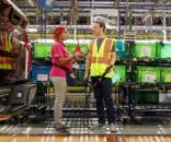 Mark Zuckerberg at a Ford plant, part of his 'Visit all States' resolution. / from 'CNN' - cnn.com