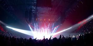 El recinto de Manchester Arena con capacidad para 21000 personas