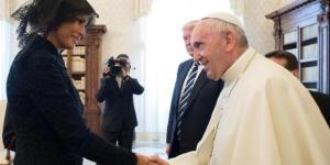 I Trump hanno incontrato Papa Francesco